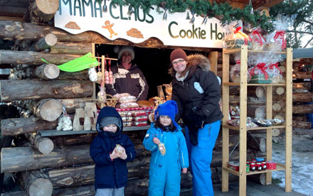 Mama Claus Cookie House